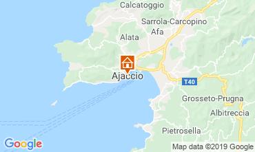 Map Ajaccio Studio apartment 118240