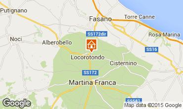 Map Alberobello Chalet 16444