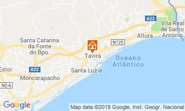 Map Cabanas de Tavira Apartment 119589