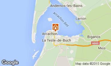 Map Arcachon Apartment 60781