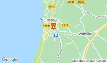 Map Wimereux Villa 88410