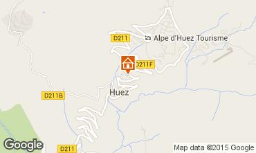 Map Alpe d'Huez Chalet 100569