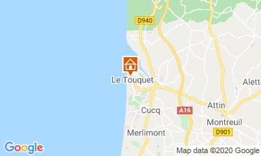 Map Le Touquet Apartment 118316