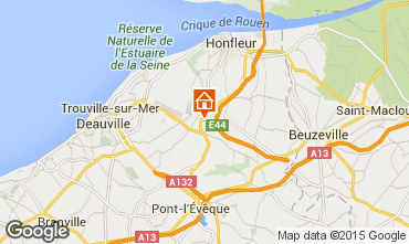 Map Honfleur House 7708