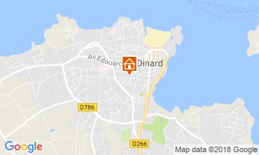 Map Dinard Studio apartment 115837