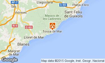 Map Tossa de Mar Apartment 85512