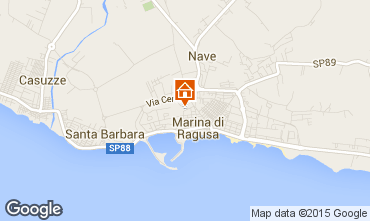 Map Marina di Ragusa Apartment 92332