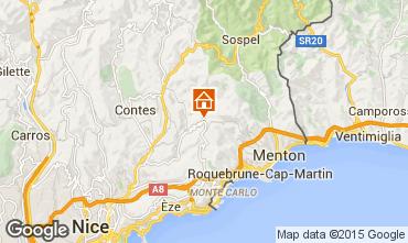 Map Monaco Bungalow 100205