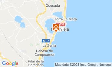 Map Torrevieja Studio apartment 78589