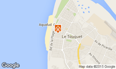 Map Le Touquet Apartment 101891