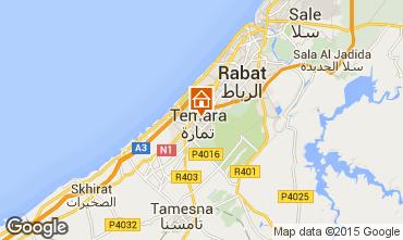 Map Rabat Apartment 54123