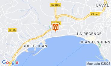 Map Juan les Pins Apartment 59593