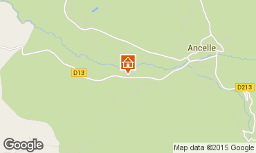 Map Ancelle Chalet 526