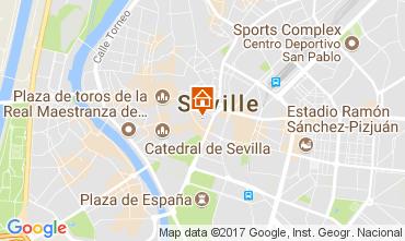 Map Seville Apartment 107396