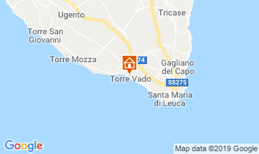 Map Torre Vado Studio apartment 81966