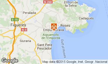 Map Empuriabrava Apartment 82800