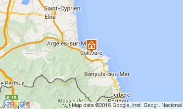 Map Collioure Apartment 102973