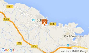 Map Collioure Flat 102973