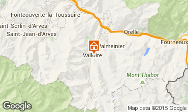 Map Valloire Apartment 73430