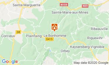 Map Lac Blanc Resort Chalet 4523