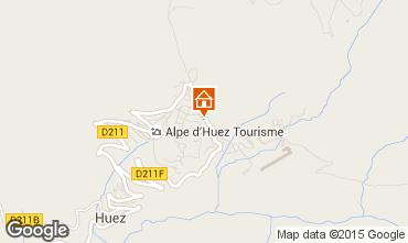 Map Alpe d'Huez Apartment 89990