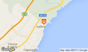 Map Avola Apartment 55805