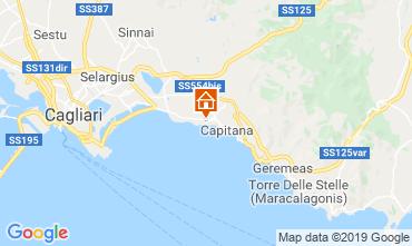 Map Quartu Sant'Elena Villa 118647