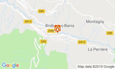 Map Brides Les Bains Apartment 4914