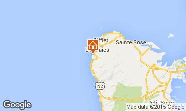 Map Deshaies Apartment 80066