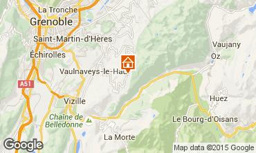 Map Chamrousse Studio apartment 773