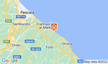 Map Ortona Apartment 104613