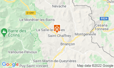 Map Serre Chevalier Chalet 2931