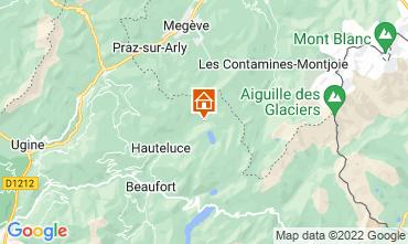 Map Les Saisies Apartment 17088