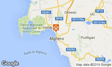 Map Alghero Apartment 73461