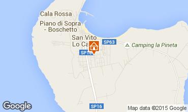 Map San Vito lo Capo Apartment 101903
