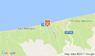 Map San Menaio Apartment 108475