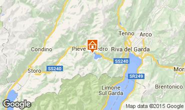 Map Ledro Apartment 95164
