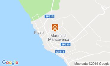 Map Marina di Mancaversa Apartment 117653