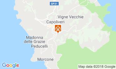 Map Capoliveri Apartment 117403