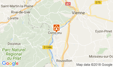 Map Condrieu Mobile home 114467