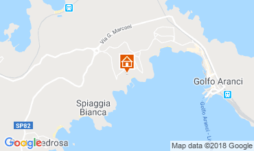 Map Aranci Gulf Villa 116375