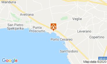 Map Torre Lapillo Apartment 119382