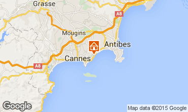 Map Cannes Apartment 24962