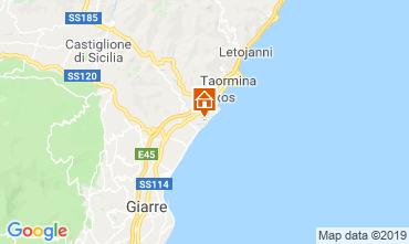 Map Taormina Studio apartment 26172