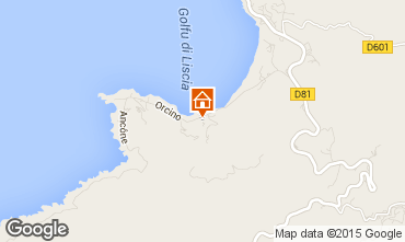 Map Calcatoggio Apartment 7842