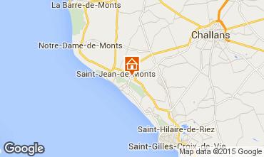 Map Saint Jean de Monts Mobile home 95954