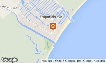 Map Empuriabrava Apartment 53422