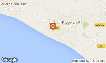 Map Le Bois-Plage-en-Ré House 73424