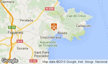 Map Rosas Villa 96439
