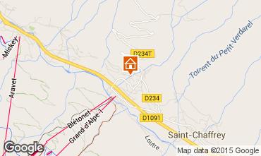 Map Serre Chevalier Chalet 47619